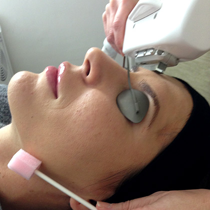 Angelica's signature light facial