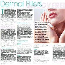Dermall fillers uncovered, your skin is constantly under attack, why do we get wrinkles?