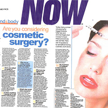 Are you considering cosmetic surgery?