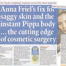 Anna Friel's fix for saggy skin and the 