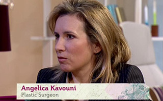 Ms Angelica Kavouni on ITV's This Morning